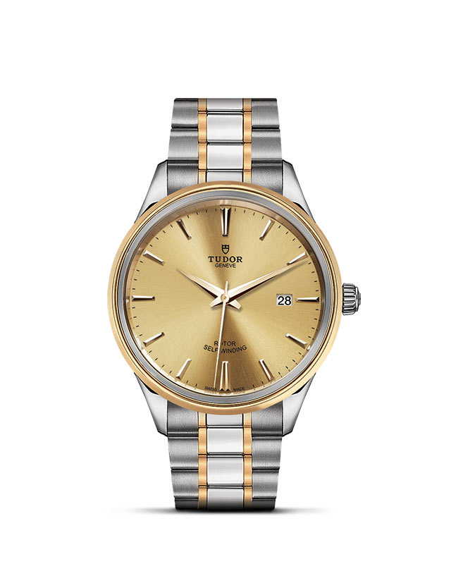 Style – 41 mm steel case – Steel and gold bezel Image